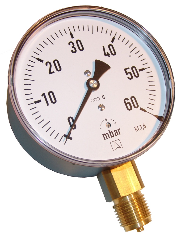 Kapselfedermanometer