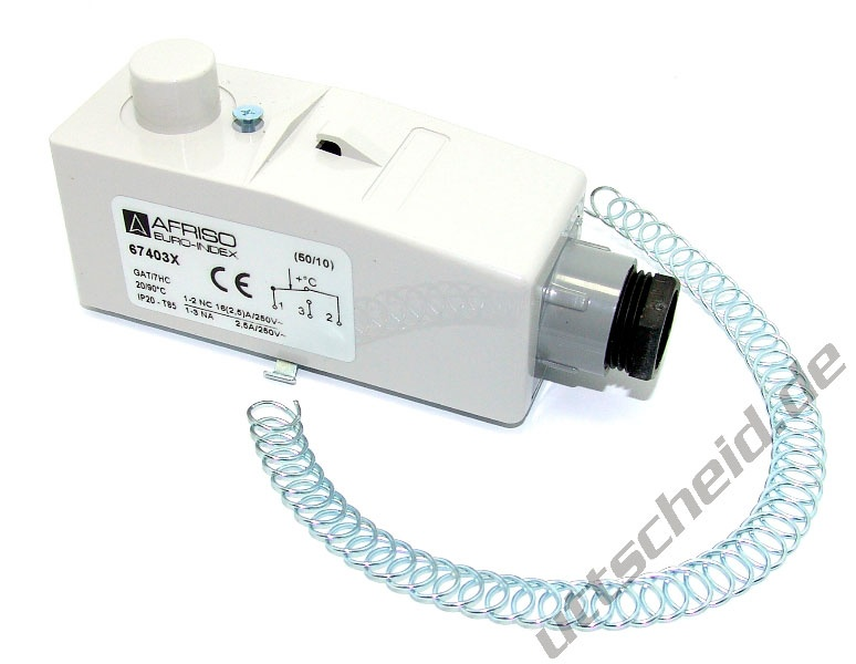 Anlegethermostat GAT / 7RC - Innenskala, 67403