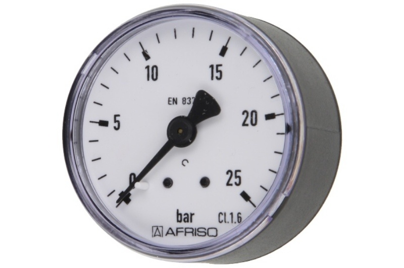 Druckmanometer 1/4 axial 0-25 bar