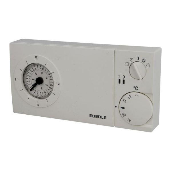 Eberle Uhrenthermostat mit Quarzuhr easy 3 st
