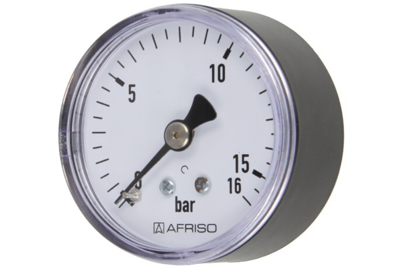 Druckmanometer 1/4 axial 0-16 bar