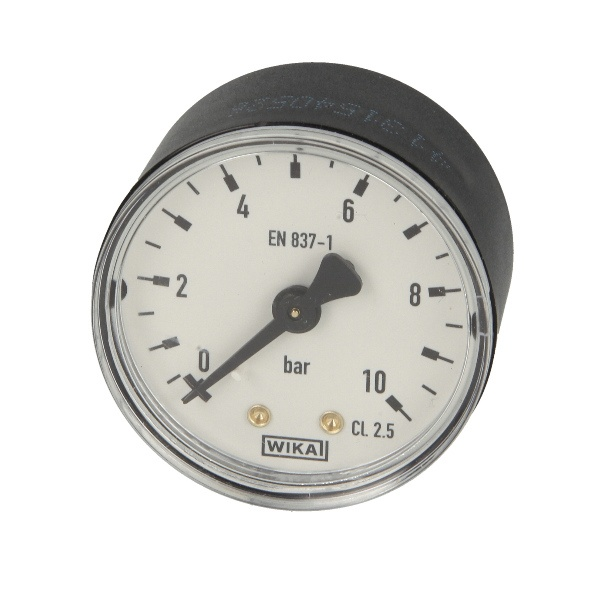 Druckmanometer 1/4 axial 0-10 bar